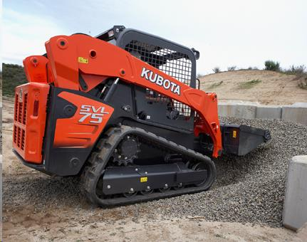 Rent Skid Steer Tracked