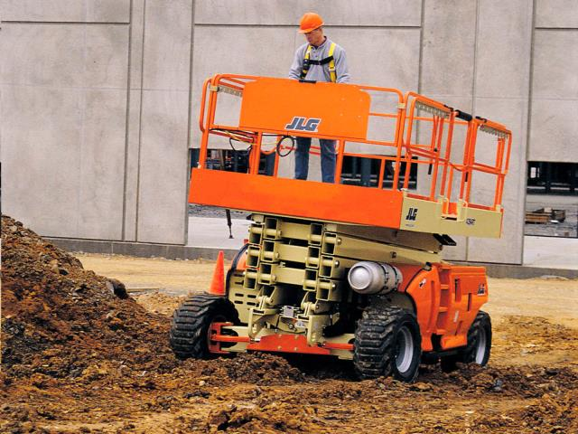 Rent Lift Scissor Rough Terrain